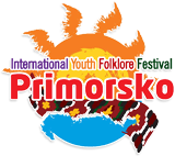 International youth folklore festival primorsko logo